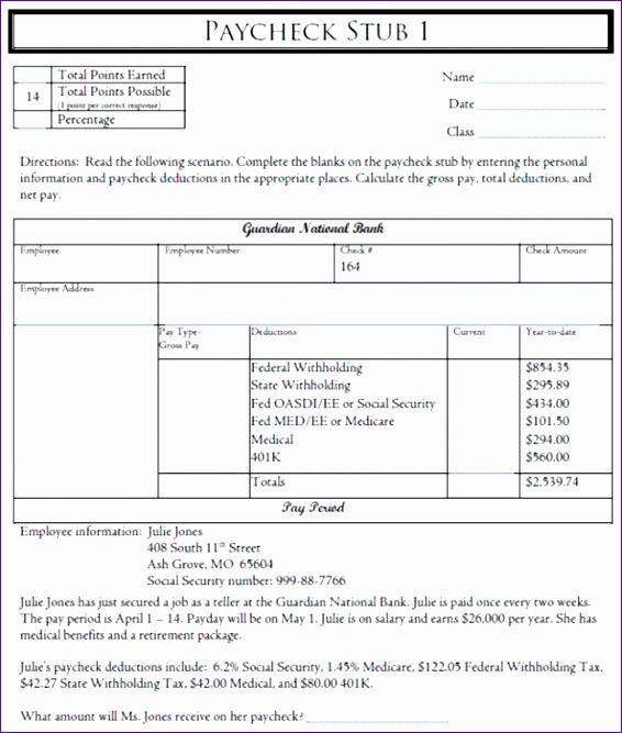 invoice templates premium pay stub word excel templates free premium templates 623x726