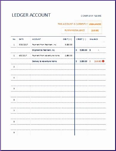 T ledger account sheet