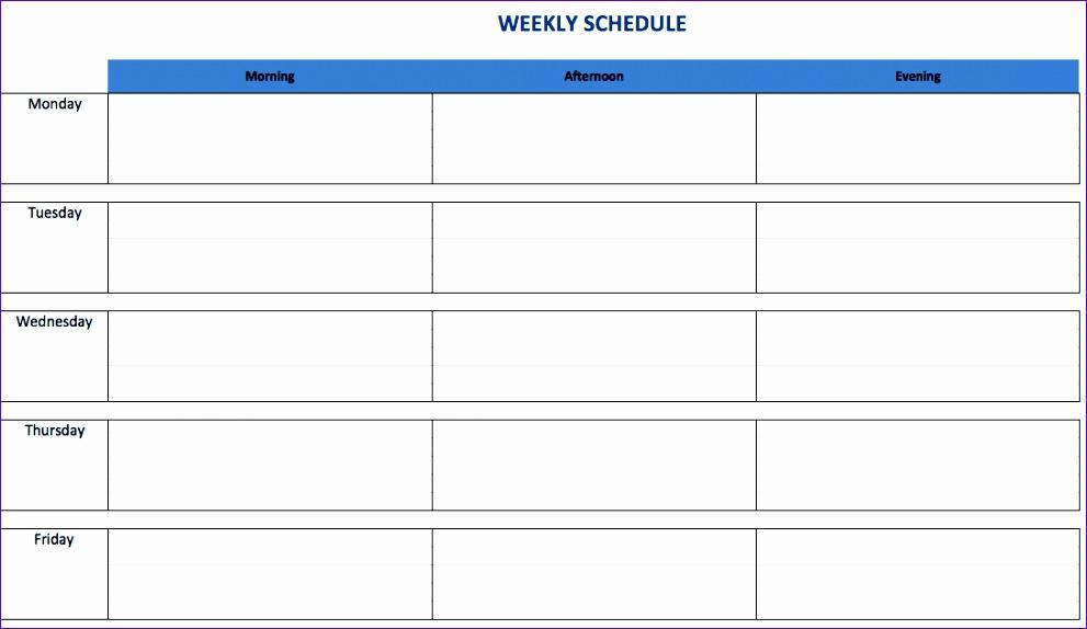 1 WeeklyScheduleTemplateExcel EN