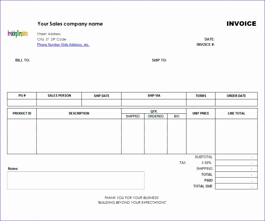 How to Create An Invoice Template In Excel Eauor Fresh Mac Invoice Template