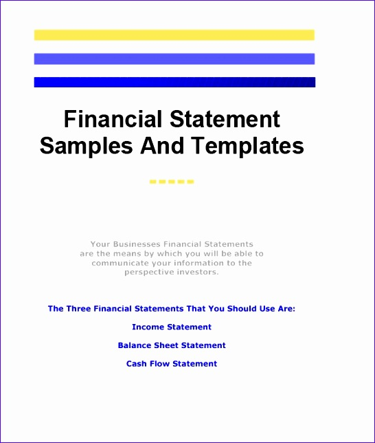 Ifrs Financial Statements Template Excel  Exceltemplates