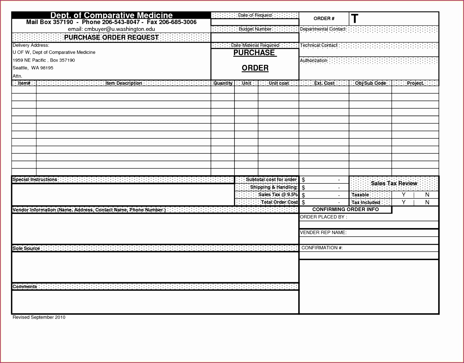 excel purchase order template 2