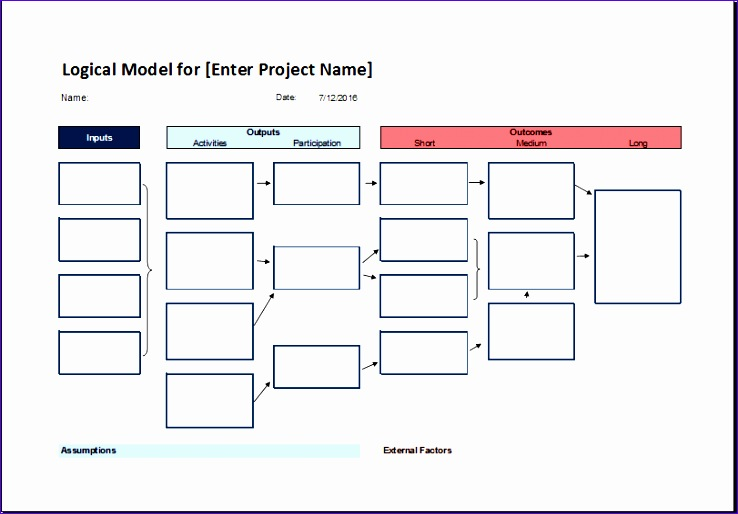 Job Sheet Template Crjcw Ideas Logical Model Flow Chart Template for Excel