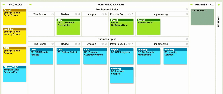 free kanban board excel template