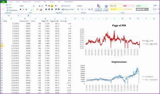 10 line graph template excel - exceltemplates