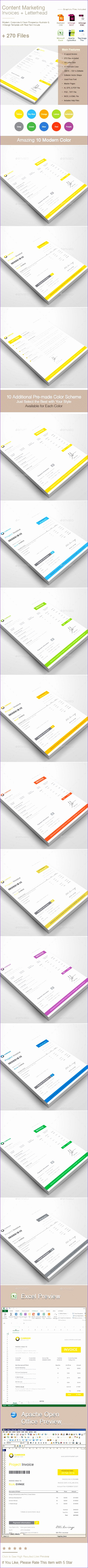 564e93ed4ac505ac2b e3e90e10e letterhead template simple shapes