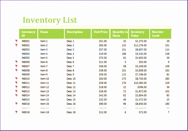 Maintenance Quotations Ienbp Elegant Inventory Worksheet Template for Excel