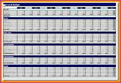 Microsoft Excel Budget Template 2010 Octod Inspirational 5 Personal Bud Template Excel 2010