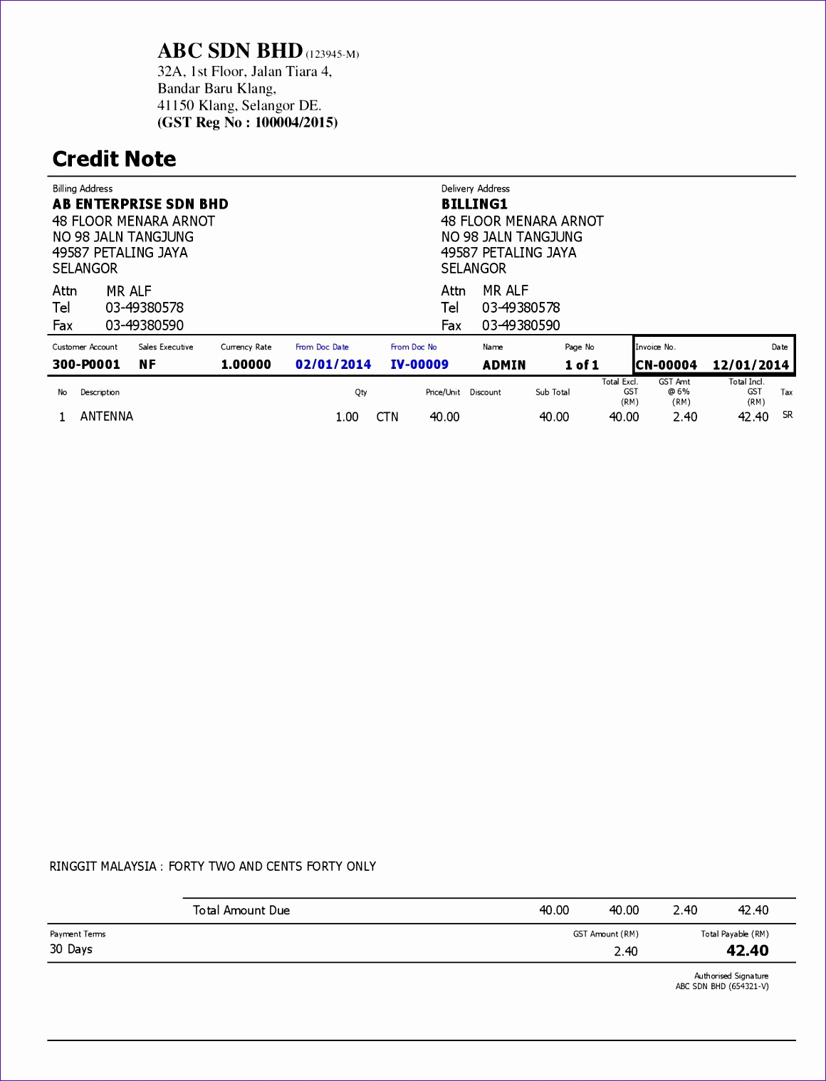 Microsoft Excel order form Template Arxcm Beautiful Simple Credit Note format Pacq