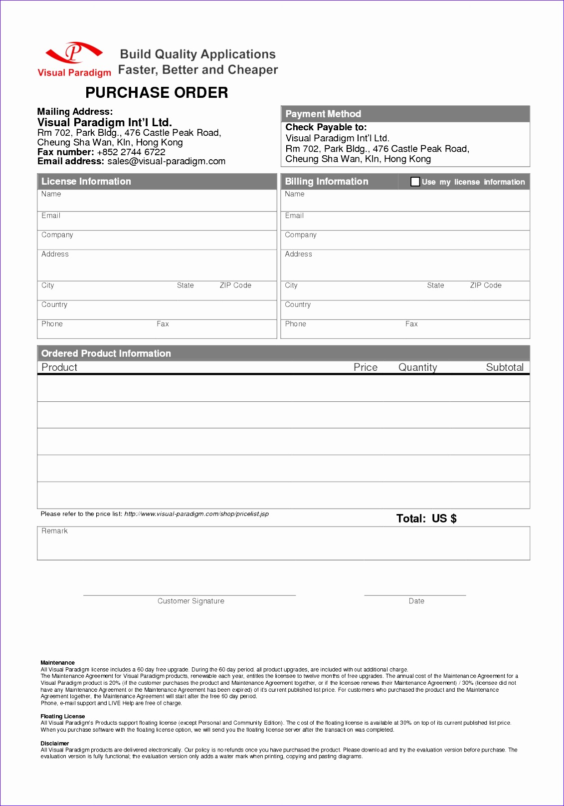 Microsoft Excel order form Template Uissn New 5 order form Template Word
