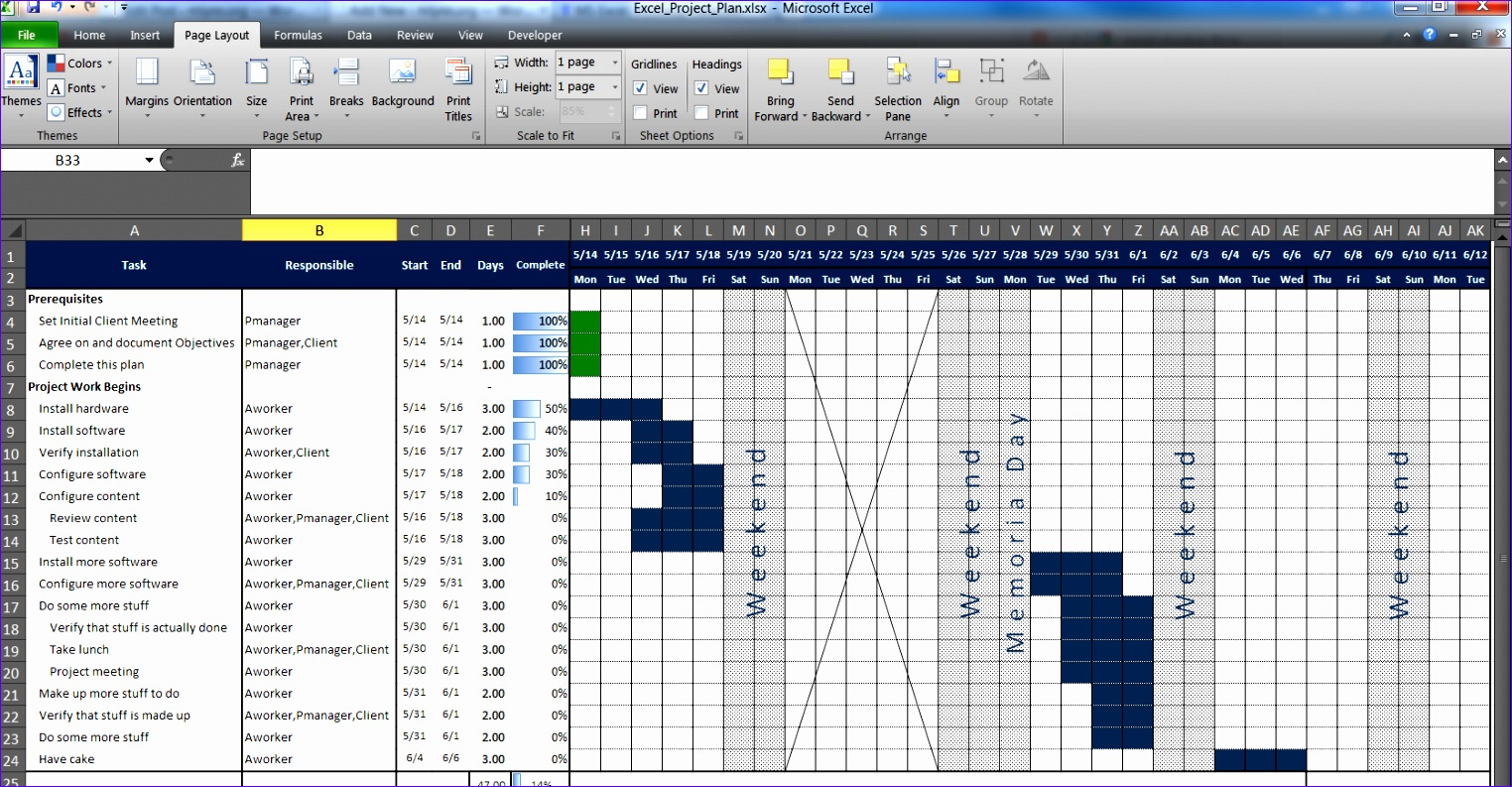 Microsoft Excel Project Plan Template Free Ufanr Awesome An Excel Project Planning Spreadsheet – Mlynn org