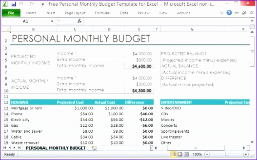 Have an Organized Monthly Spending Plan 580x357