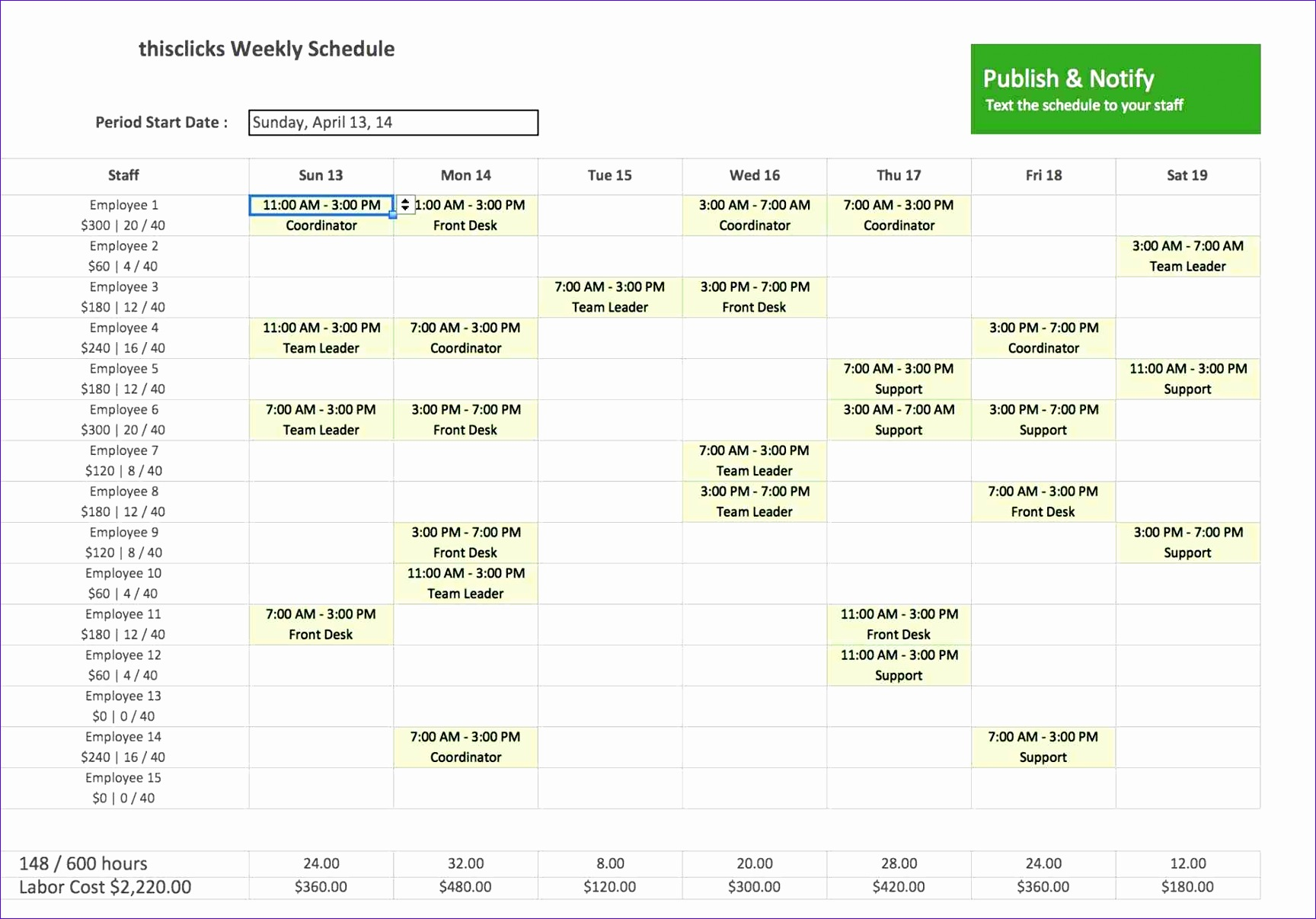 monthly Monthly Employee Work Schedule Template Excel schedule template excel procedure sample work cyberuse work Monthly Employee Work Schedule Template Excel schedule template