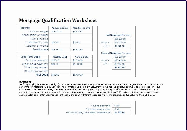 Fha Mortgage Loan Qualification Calculator