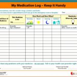 Ms Excel Patient Medication Log Template Fyssz Elegant Free Printable Medication Log