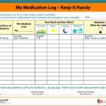 Ms Excel Patient Medication Log Template Fyssz Elegant Free Printable Medication Log