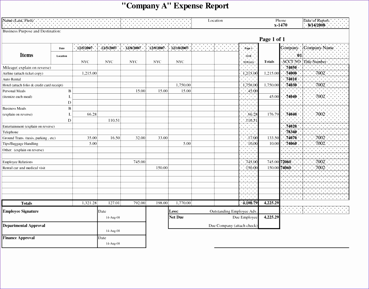 100 report card templates free bud templates in excel for in credit card expense report template