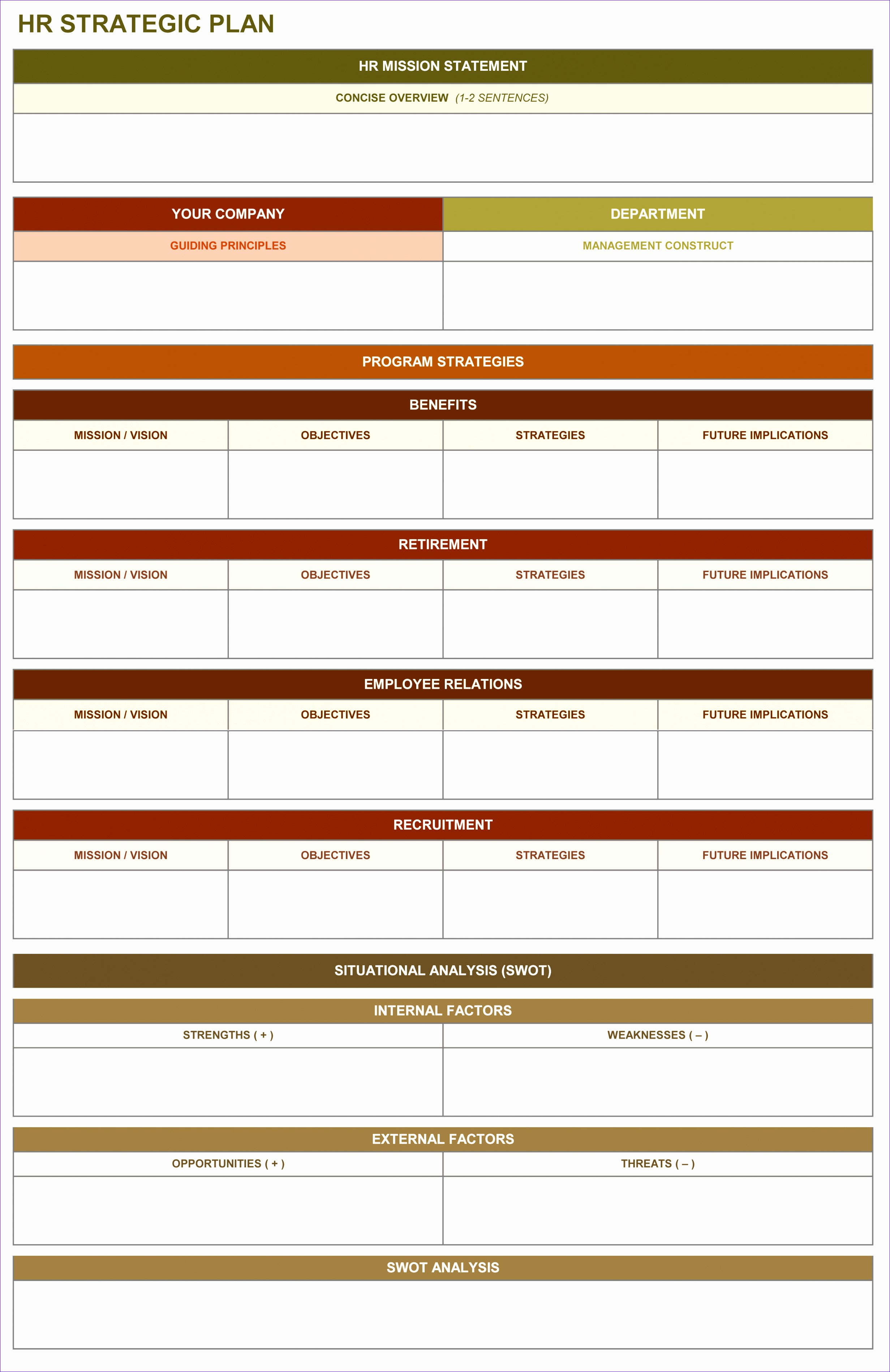 Ms Excel Vacation Cost Planner Template Gmwas Luxury 9 Free Strategic Planning Templates Smartsheet