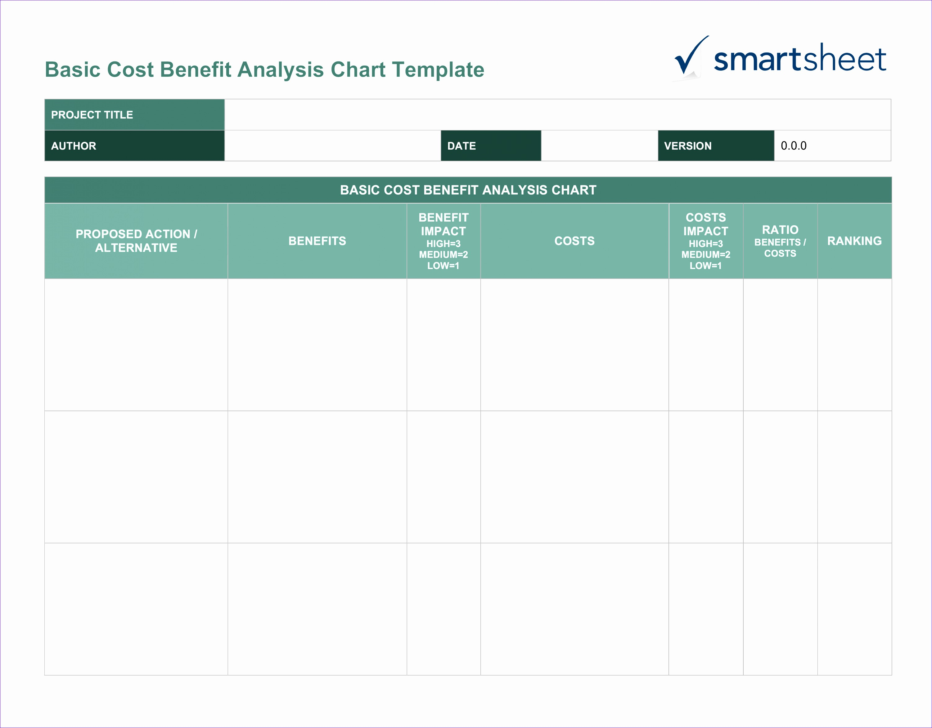 Net Present Value Calculator Excel Template Fcgyk New Free Cost Benefit Analysis Templates Smartsheet