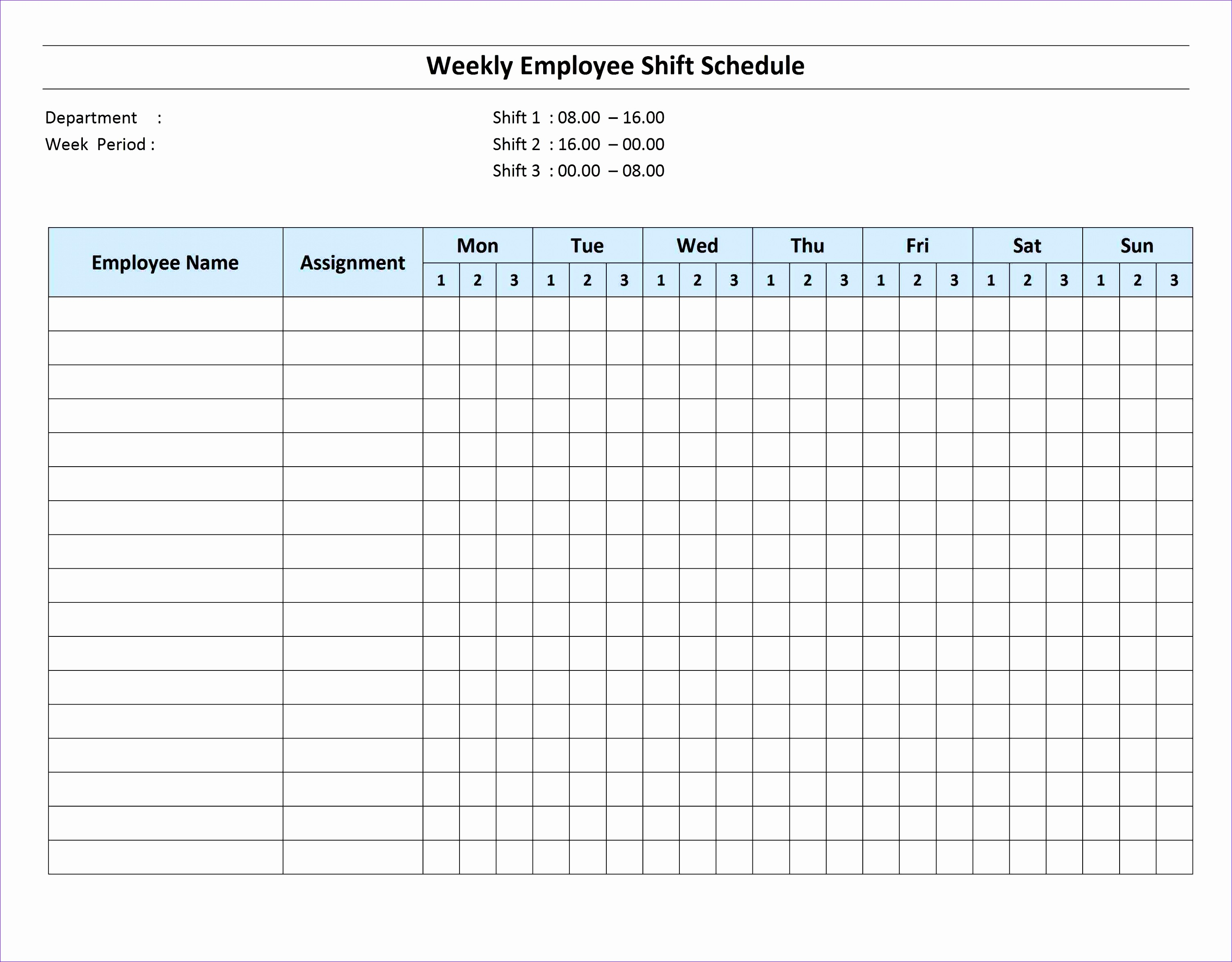 On Call Schedule Template Excel Fedzz New Weekly Schedule Template - Weekend on call schedule template