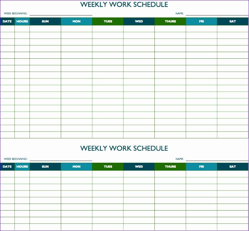 biweekly work schedule