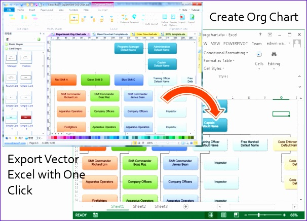 Organization Chart Excel Template Download Redzl Inspirational Create organizational Charts In Excel