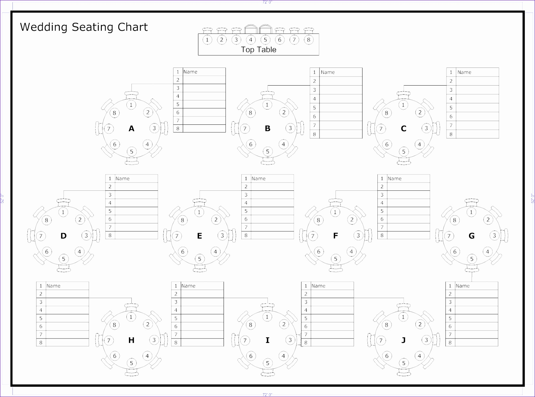tips to seat your wedding guests receptions wedding reception throughout wedding seating chart template excel