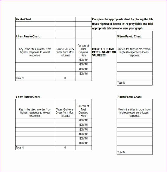 7 Pareto Chart Template Excel 2010 Exceltemplates Exceltemplates