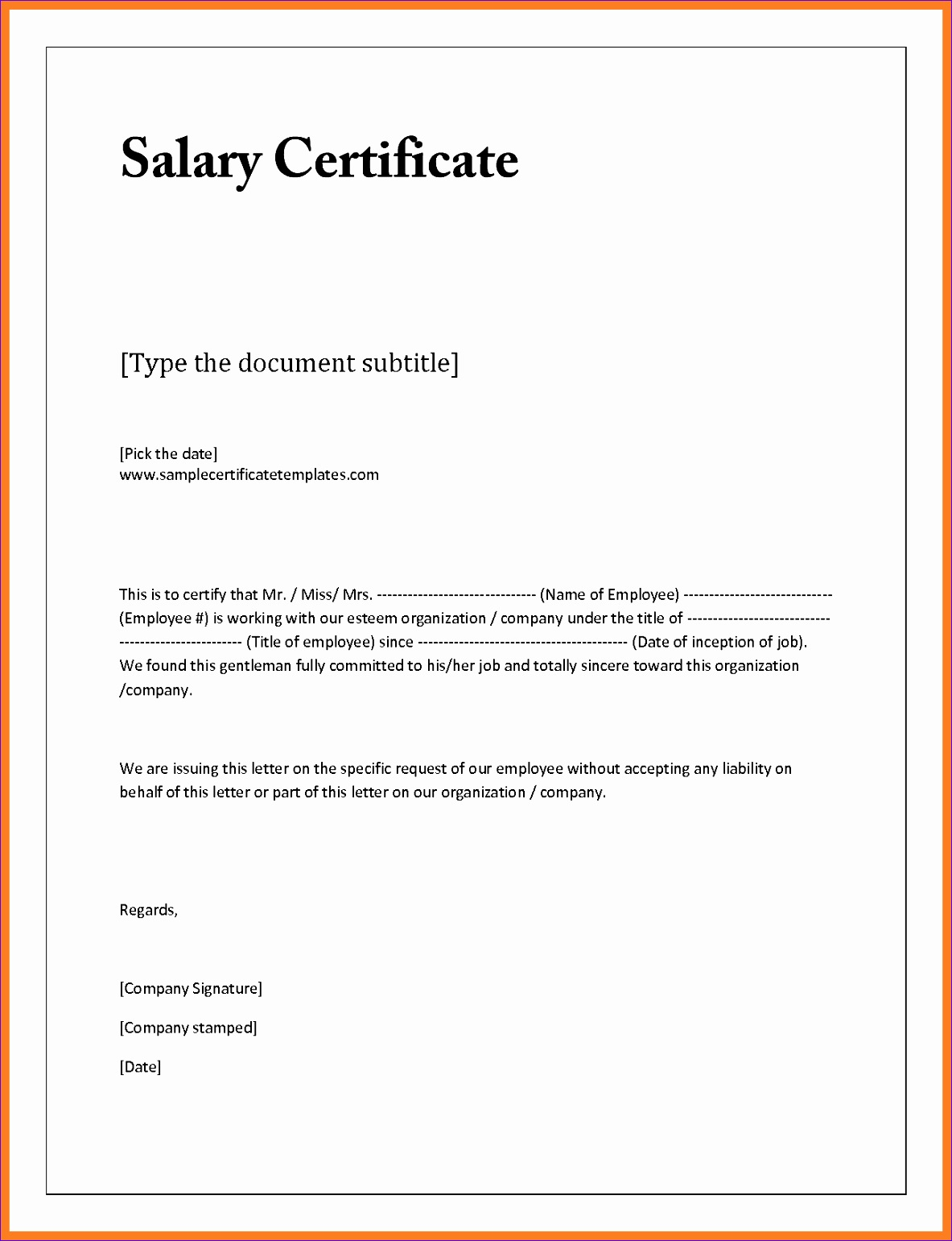 salary certificate letter pdf salary confirmation request letter doc sample salary certificate letter 21 free salary