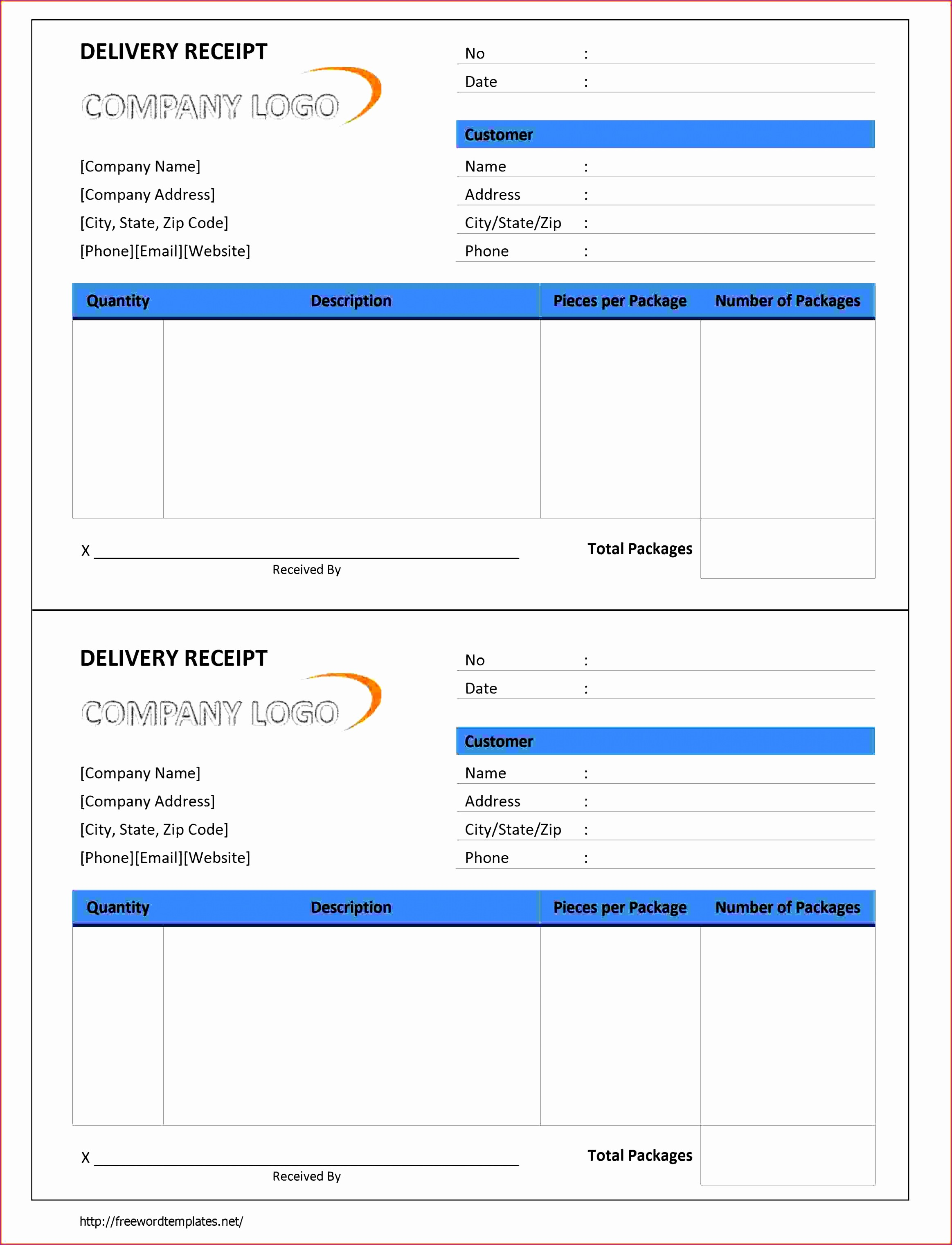 receipt template word 102 delivery receipt