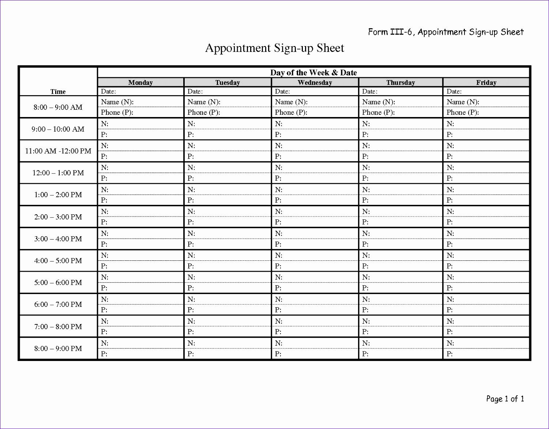 potluck signup sheet pdf