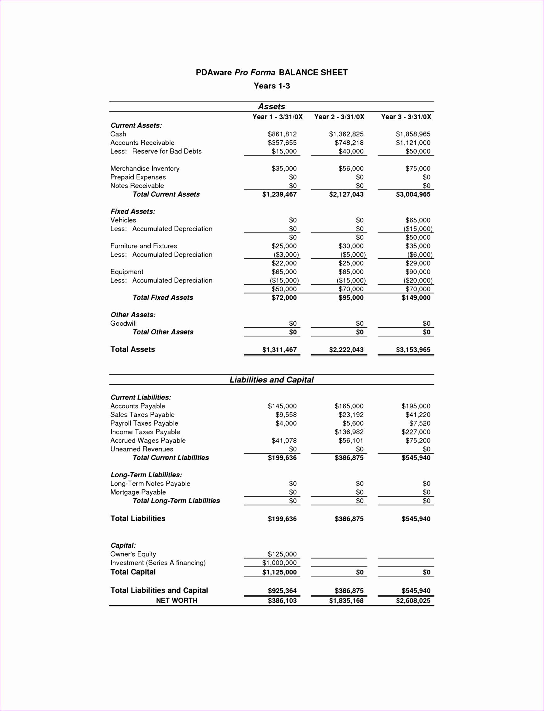multifamily pro forma spreadsheet