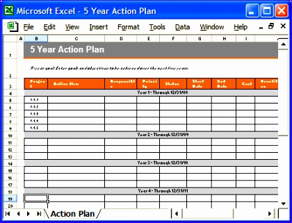 Delightful ... Project Action Plan Template Excel Oaxse. Actionplan9 On Project Action Plan Template Excel