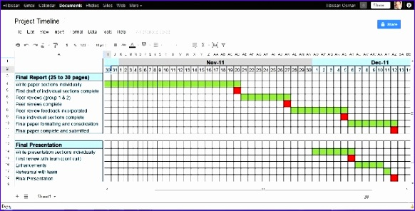Project Calendar Template Excel Free Ccgks New Sample Project Timeline the Prince2 Training Manual Sample