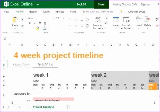 Project Calendar Template Excel Free Cnsyd Fresh Free Project Timeline Template for Excel