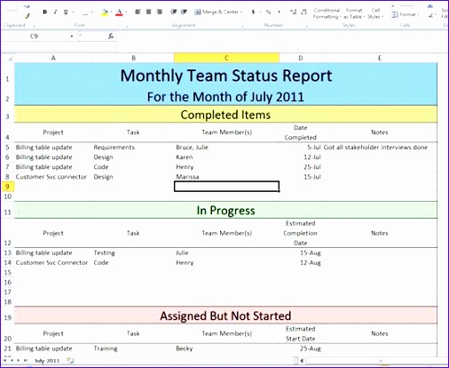 project follow up template excel