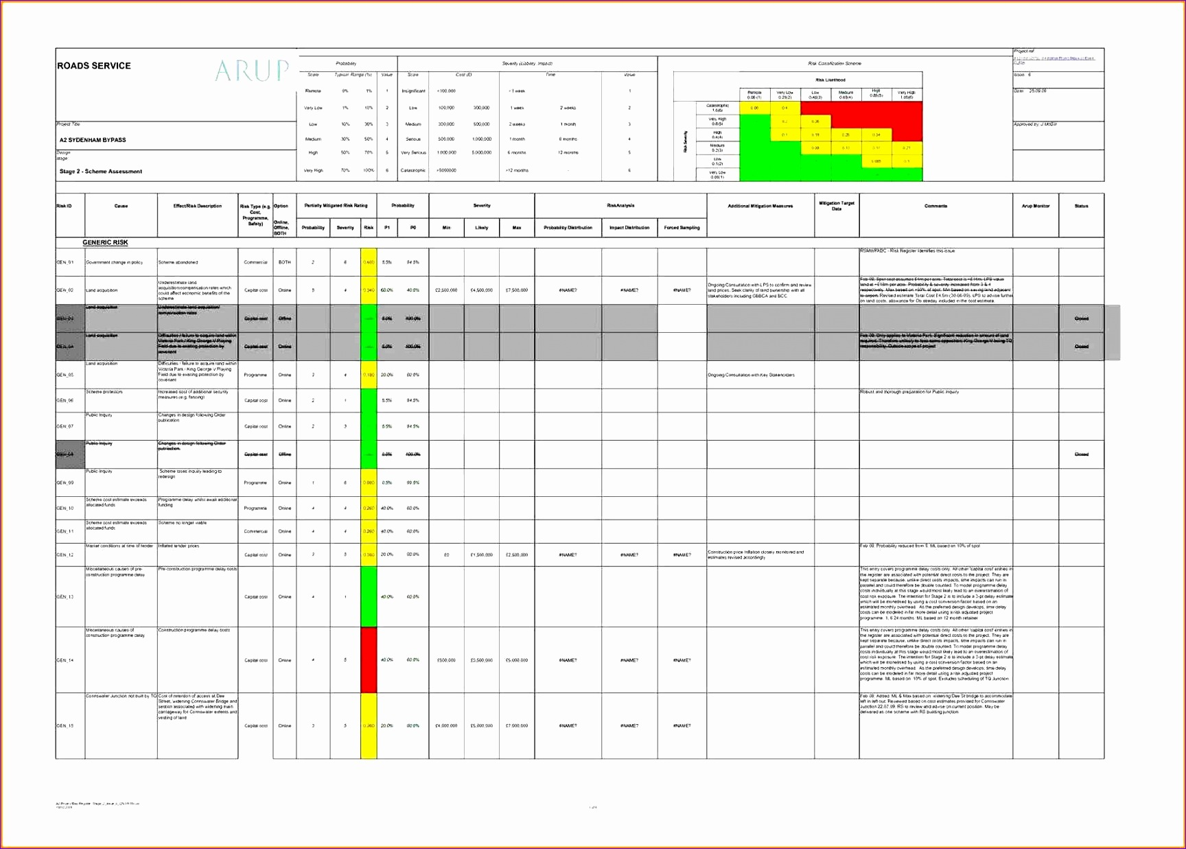 Excel Follow Up Template