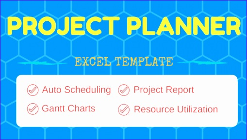 Project Planner Excel Template banner