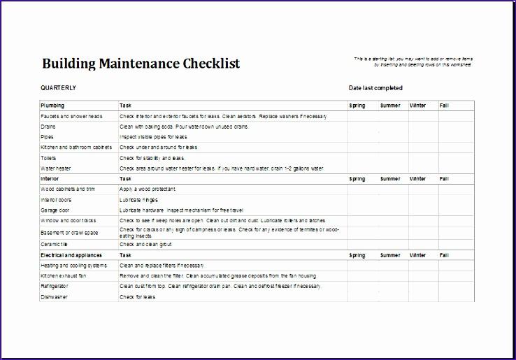 6 property inventory log - exceltemplates