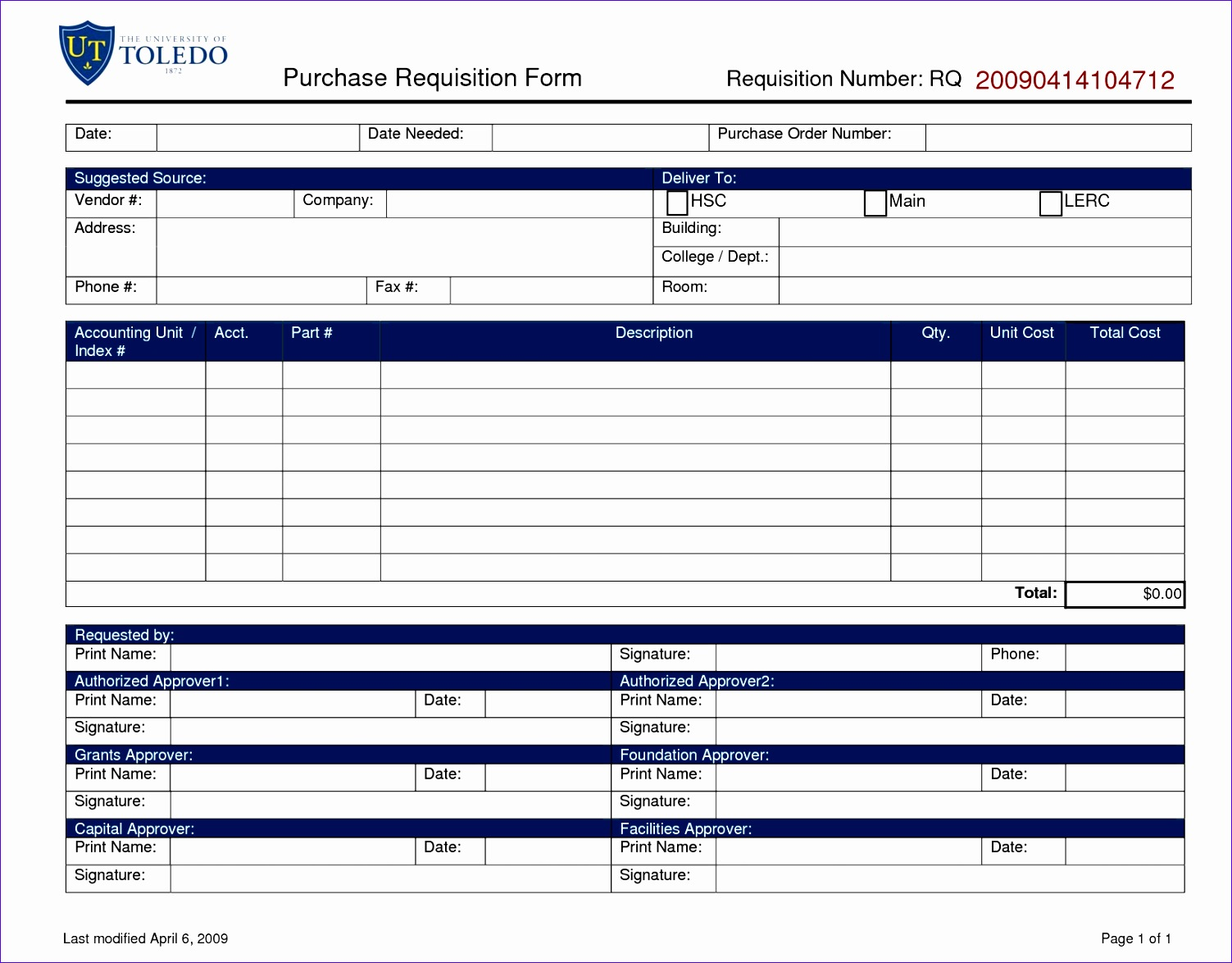 purchase requisition template 3