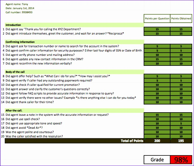 quality assurance excel template uireg fresh quality