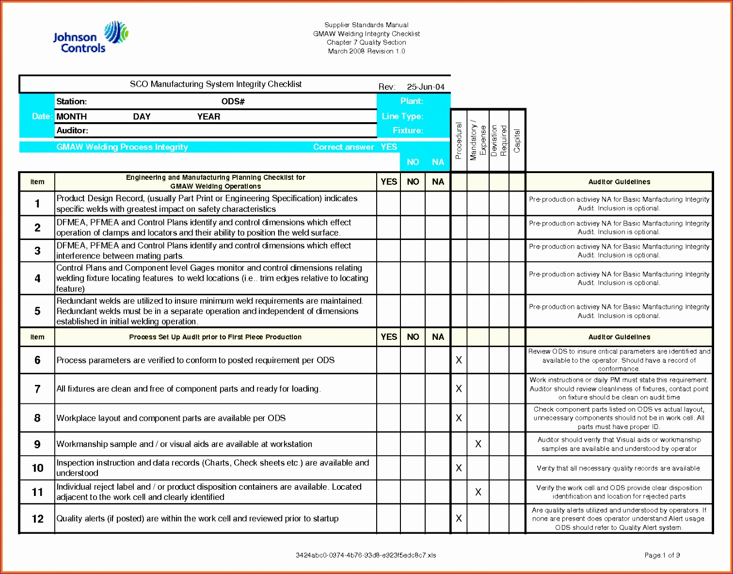 Quality Checklist Template Excel Knhvd Beautiful Excel Checklist Template