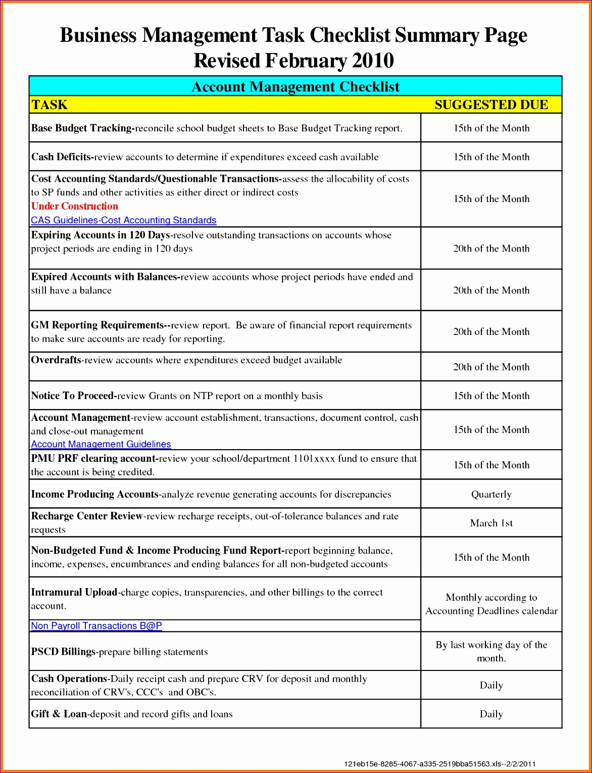 Quality Checklist Template Excel Zggvi Awesome Work Checklist Template Excel Pacq