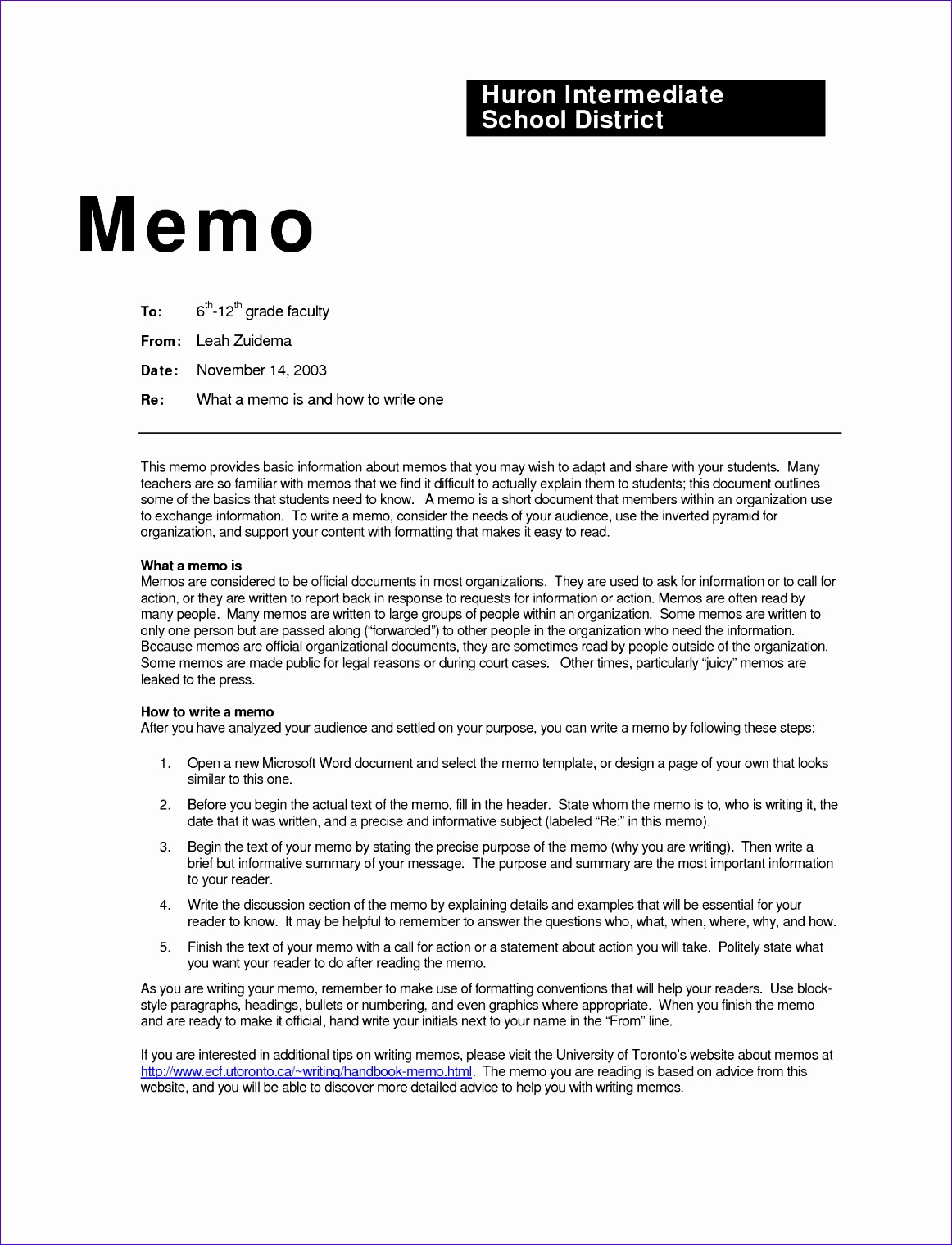 Memo Template Sample Sample Memo Template 3