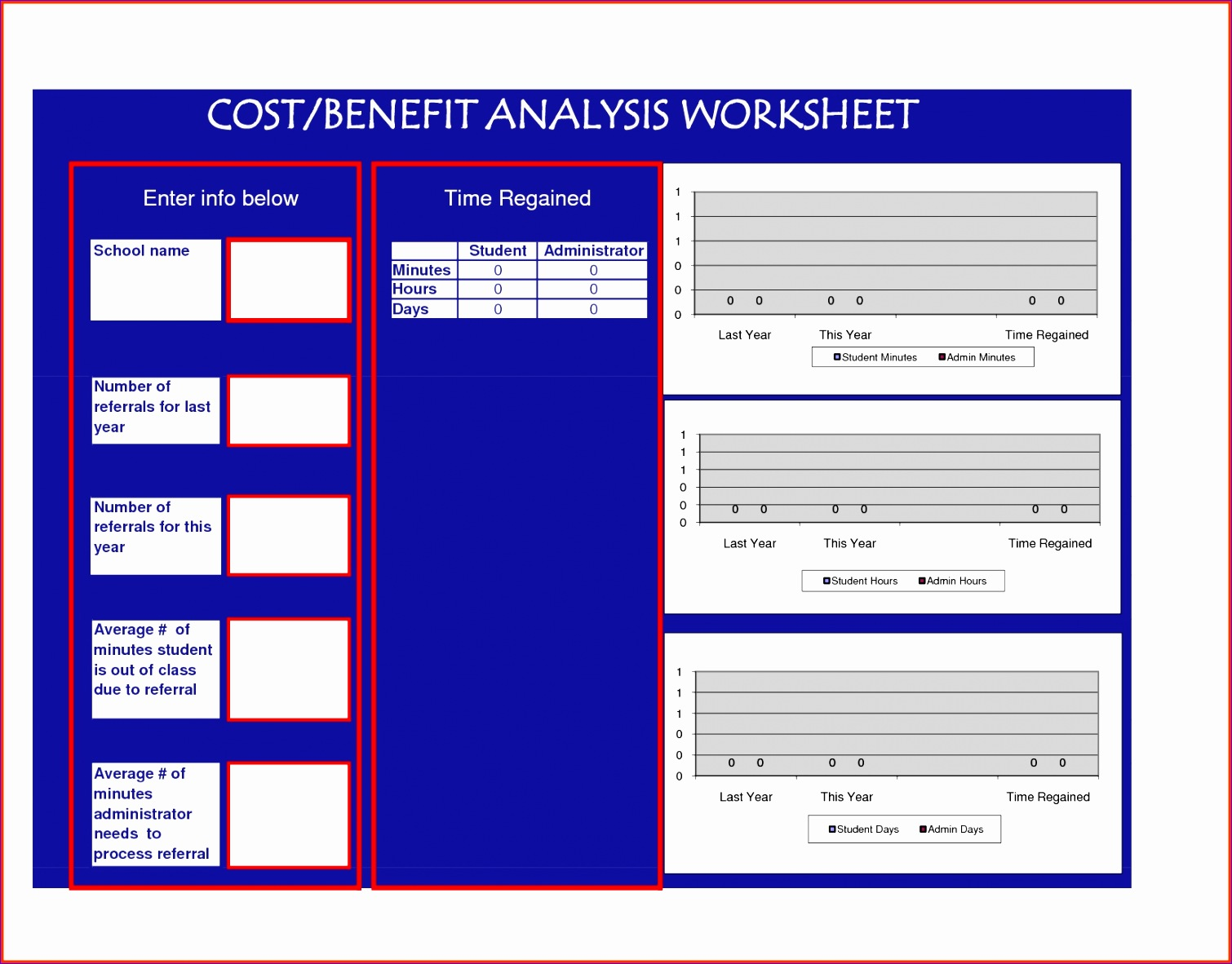 cost analysis excel template sample cost analysis 8 documents in template