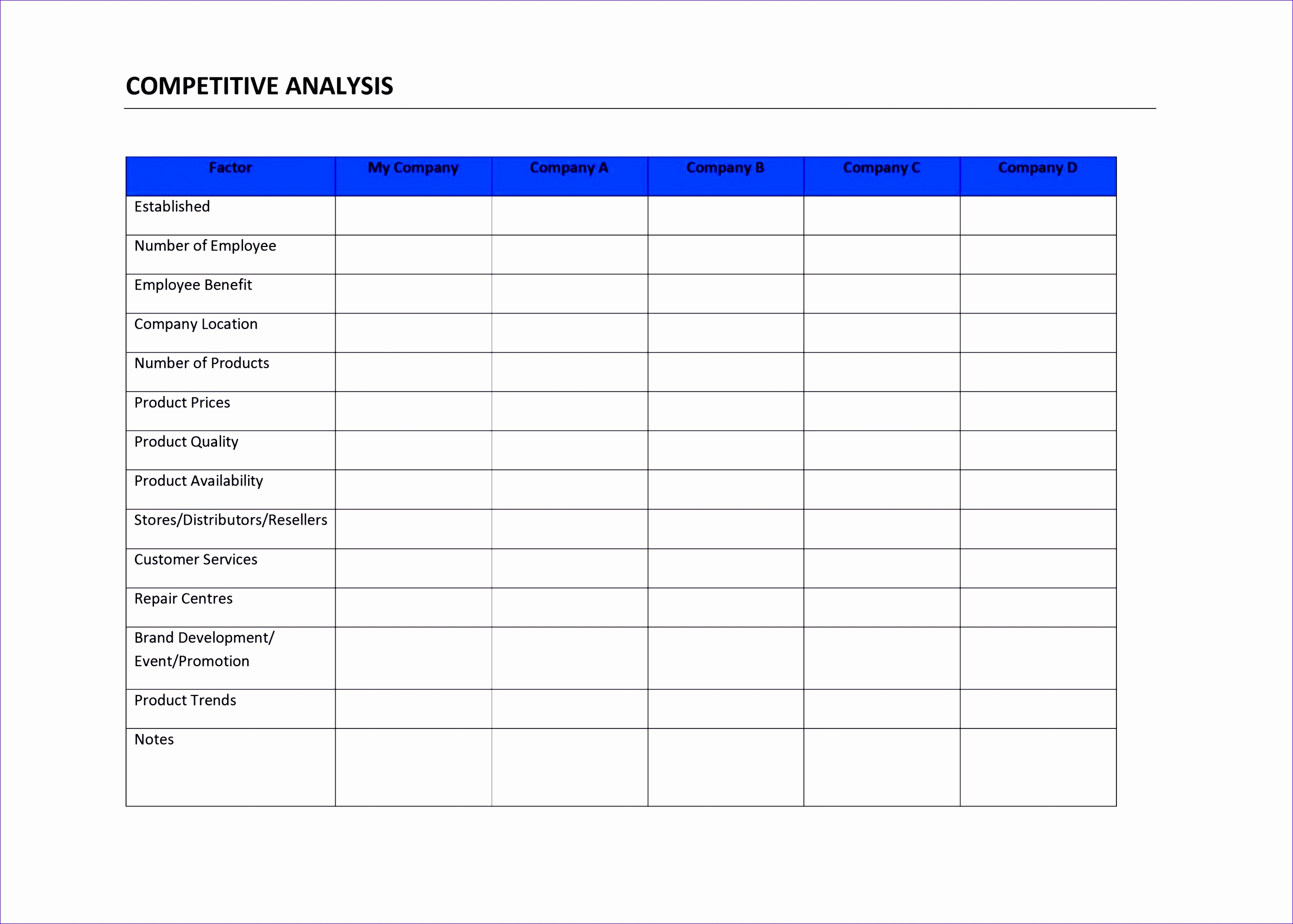 8 Root Cause Analysis Excel Template - ExcelTemplates - ExcelTemplates