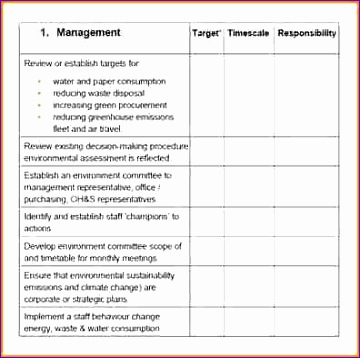 employee action plan template excel