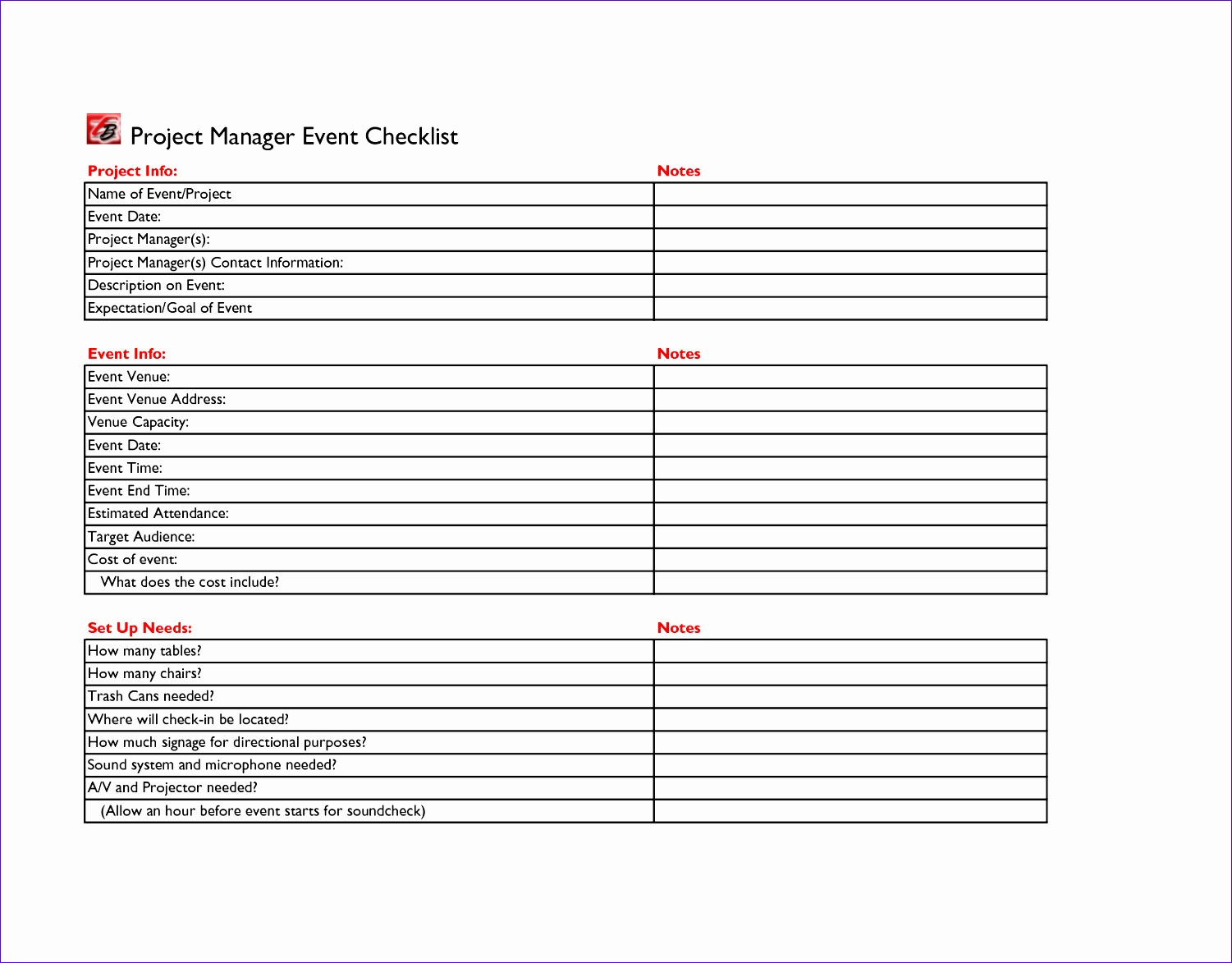 event planning checklist template free 696