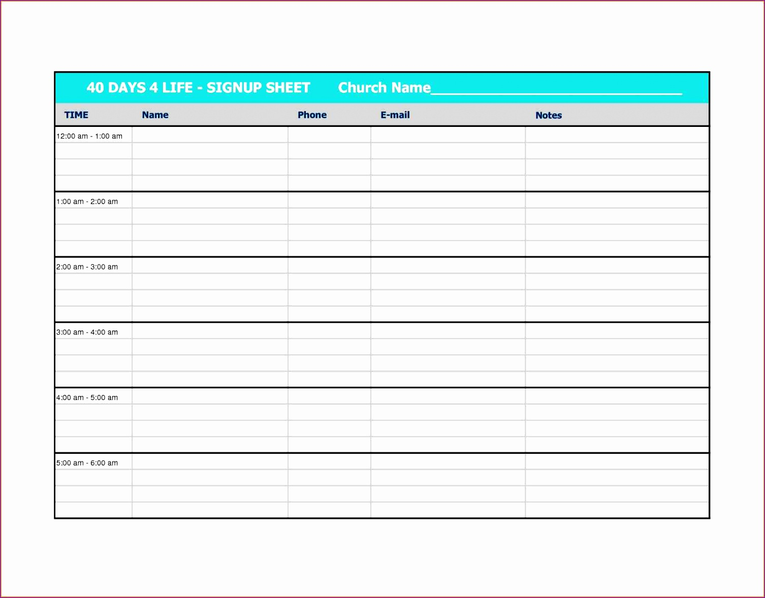 sign off sheet template excel and construction sign in sheet template