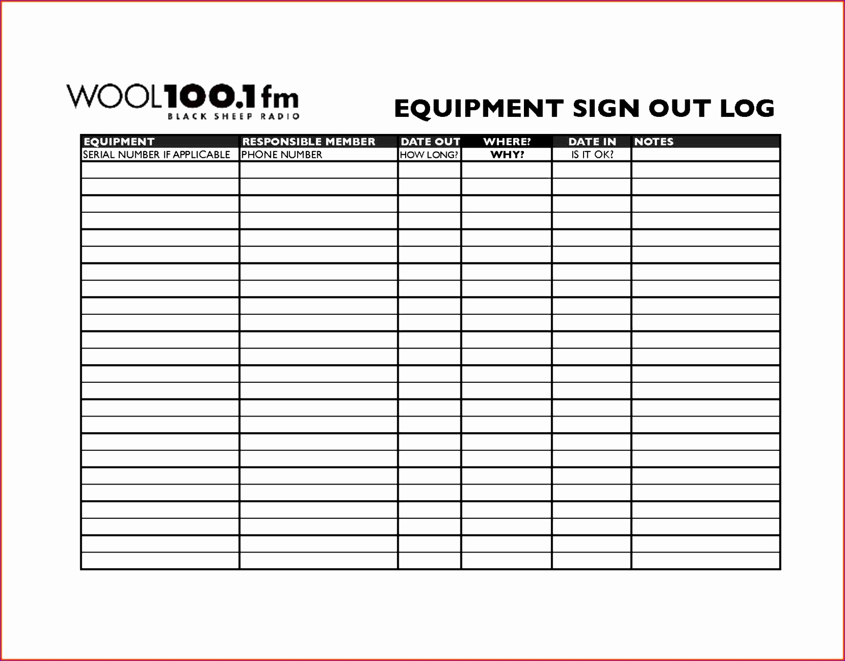 Sign Out Sheet Template Excel Skskq Lovely Sign Out Sheet Template Excel